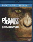 PLANET DER AFFEN - PREVOLUTION Blu-ray +DVD SciFi Prequel