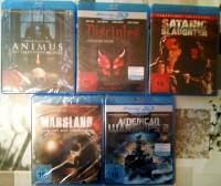 Blu-Ray Horror Sammlung 5 Filme NEU - FSK18