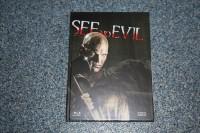 Mediabook Blu ray SEE NO EVIL Cover B