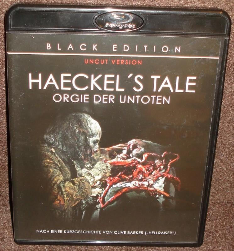 HAECKELS TALE uncut Blu-ray Black Edition wie NEU