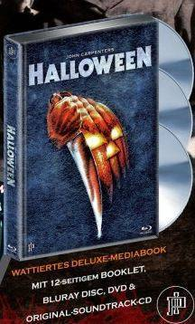 Halloween - DVD/Blu-ray Mediabook C wattiert Lim Ed OVP