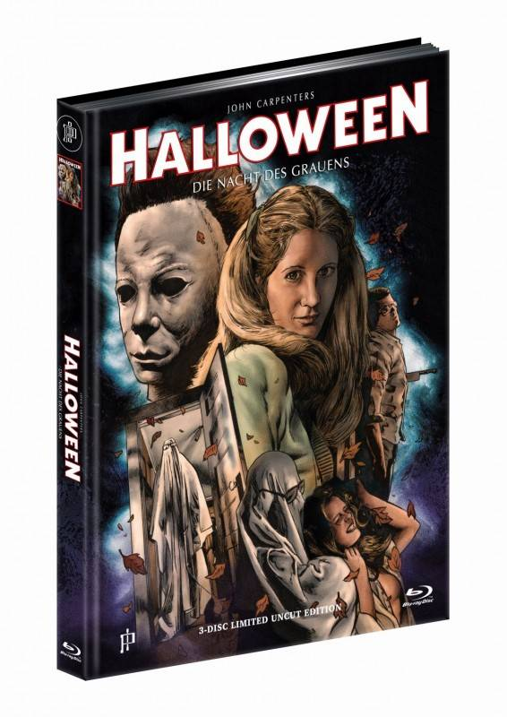 Halloween 1 - DVD/BD/Soundtrack Mediabook H OVP