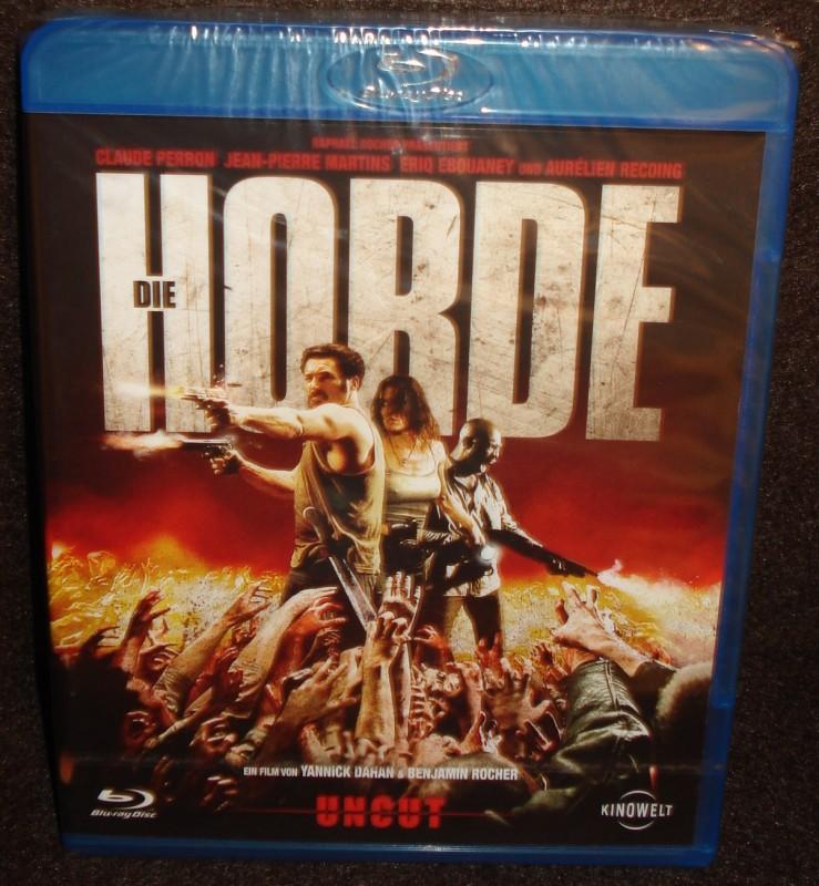 DIE HORDE uncut Blu-ray NEU/ OVP