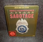 SABOTAGE - lim. uncut Gold Steelbook Edition (NEU/ OVP)