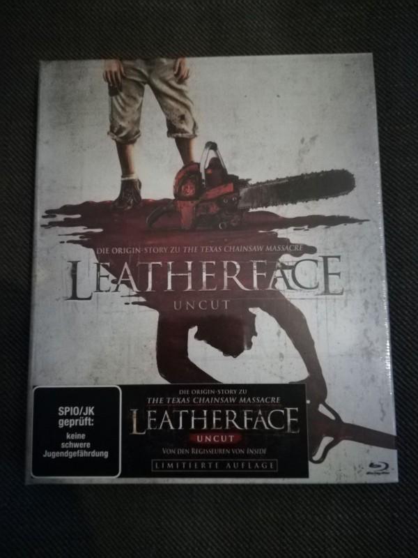 Leatherface - limited Müller Mediabook - OVP + OOP (Blu-Ray)