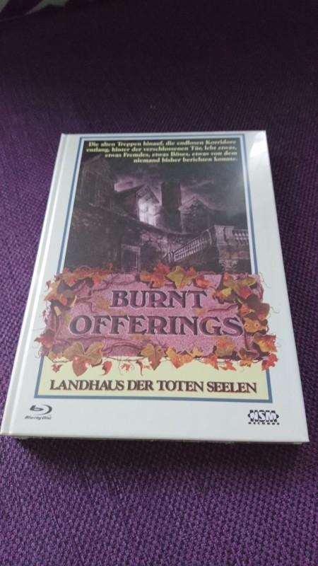 Burnt Offerings Landhaus der toten Seelen Mediabook Cover B