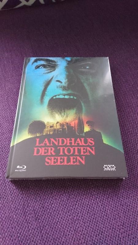 Landhaus der toten Seelen Mediabook Cover A NSM