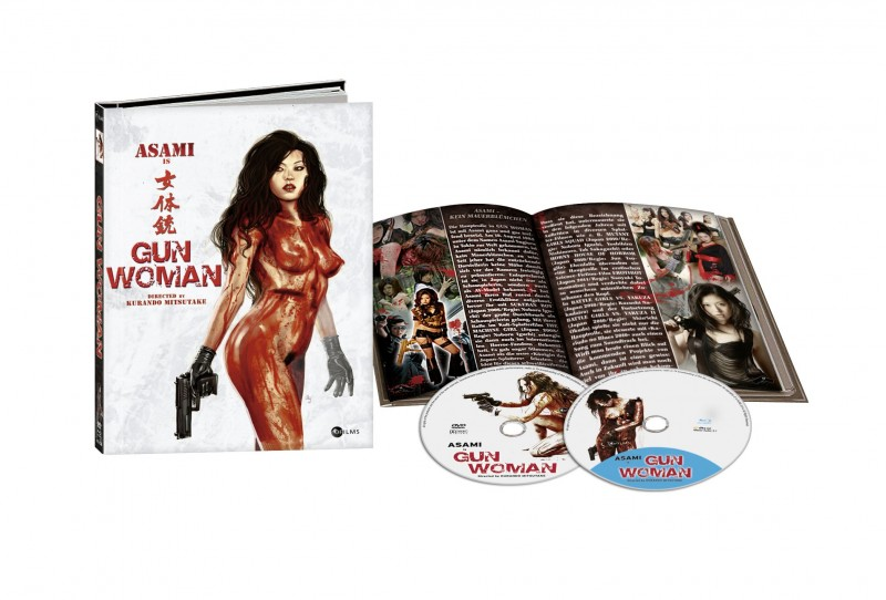 Gun Woman - 2Disc DVD/BD Mediabook Lim 999  OVP