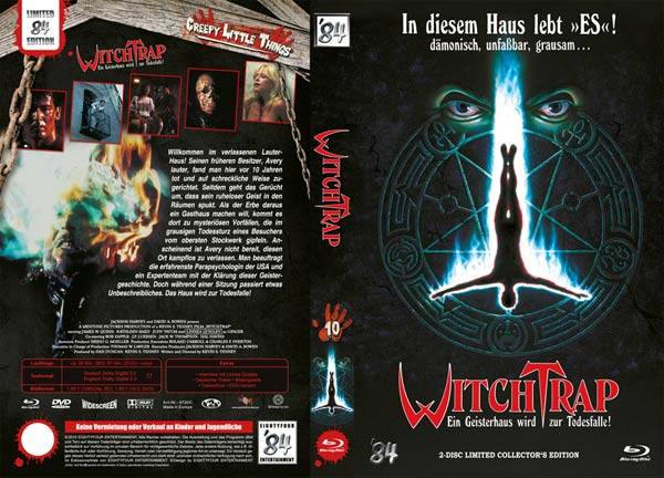 Witchtrap (uncut) '84Lim gr. Buchbox BD+DVD C