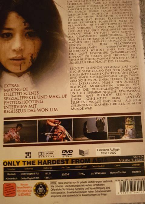 Bloody Reunion Lim.2000 / CAT III DVD