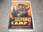 Screen Power VHS SLEEPAWAY CAMP 2  Uncut  RARITÄT