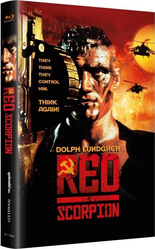 Red Scorpion - gr Blu-ray Hartbox Lim 66 OVP