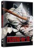 Freitag der 13. - DVD/BD Mediabook wattiert Lim 2000 OVP