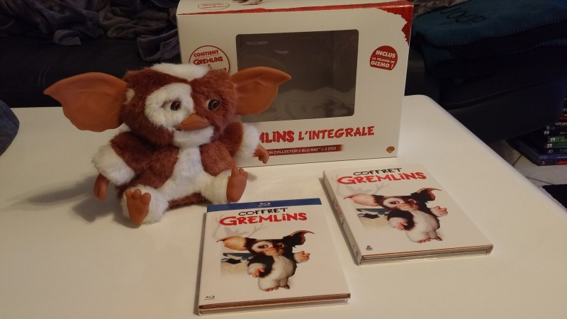 Gremlins - 1+2 Gizmo  Edition-Blu Ray Box-Rar! Top!