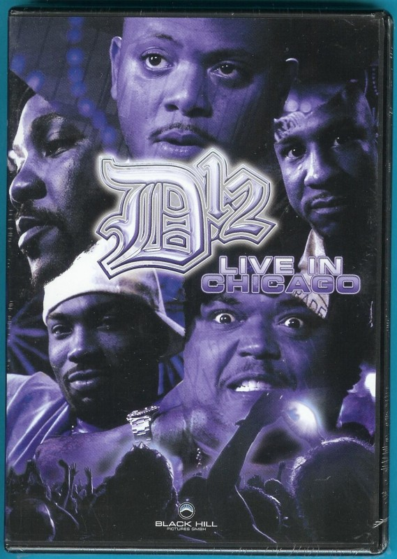 D12 - Live in Chicago DVD NEU/OVP