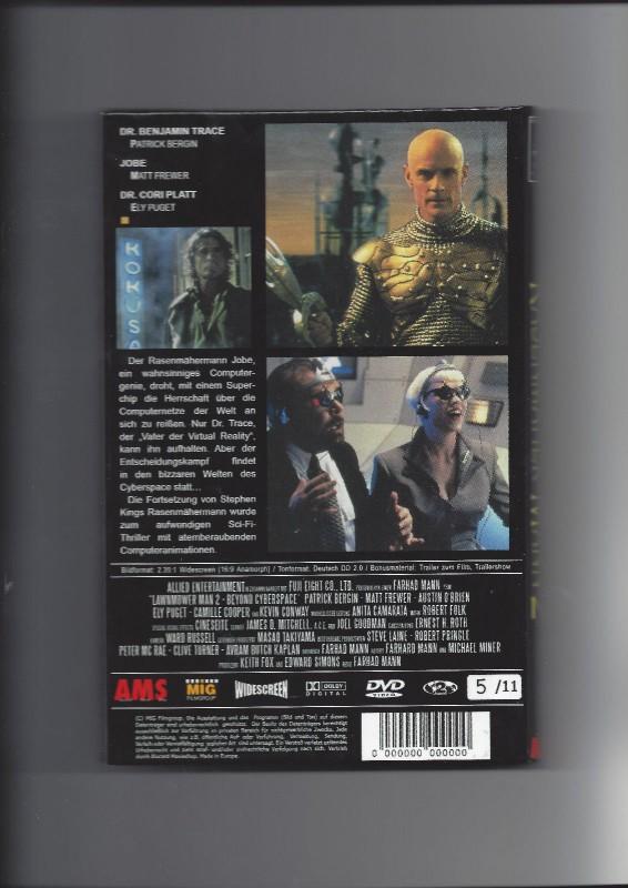 Der Rasenmäher-Mann 2 Beyond Cyberspace, Gr. HB, LE 5/11 OVP