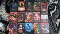 Sammlungsauflösung,Horror-Slasher Sammlung DVD´s