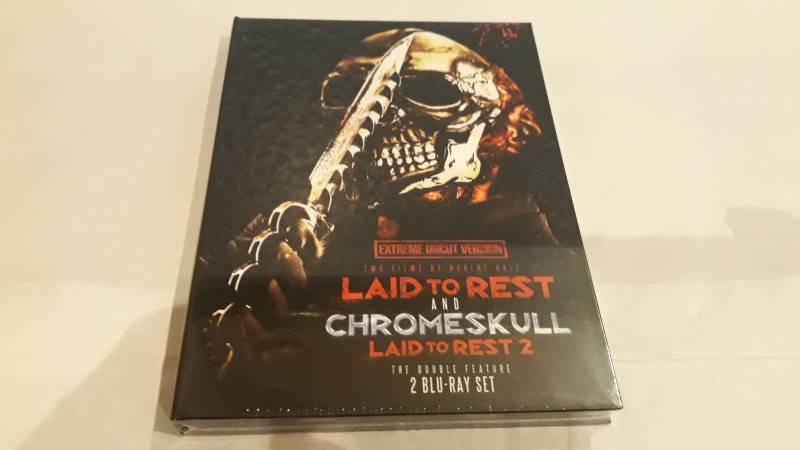 Laid to Rest 1+2 - Dragon Mediabook - Cover A