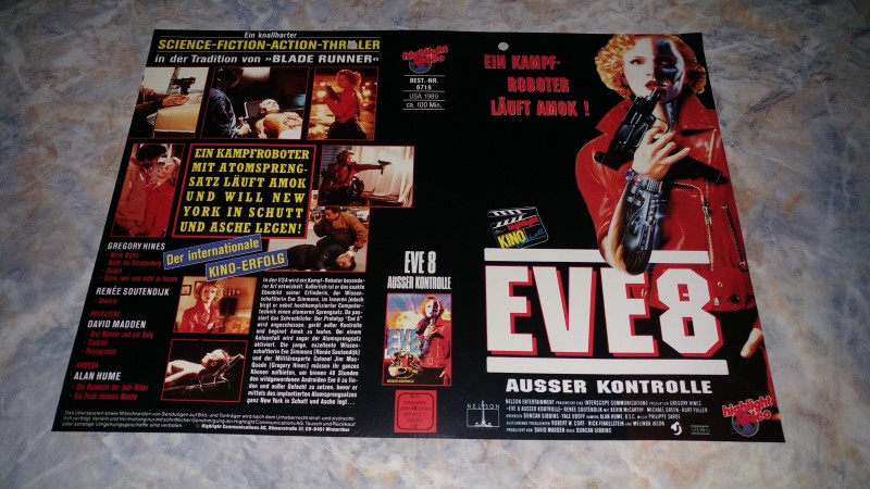 EVE 8 / ORIGINAL COVER