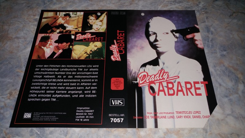 xxx DEADLY CABARET / ORIGINAL COVER xxx