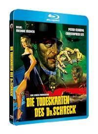 Die Todeskarten des Dr. Schreck - Blu-ray Amaray OVP