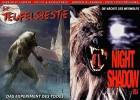Teufelsbestie + Night Shadow USA  2 x Castello Uncut DVDs