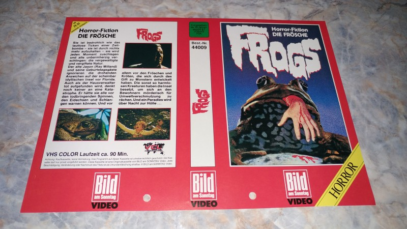 FROGS / ORIGINAL COVER