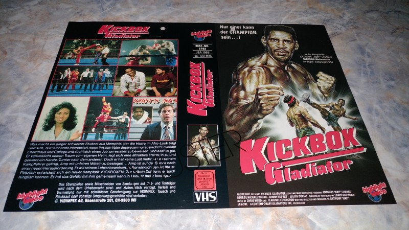 KICKBOX GLADIATOR / ORIGINAL COVER
