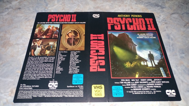PSYCHO 2  / NUR ORIGINAL COVER