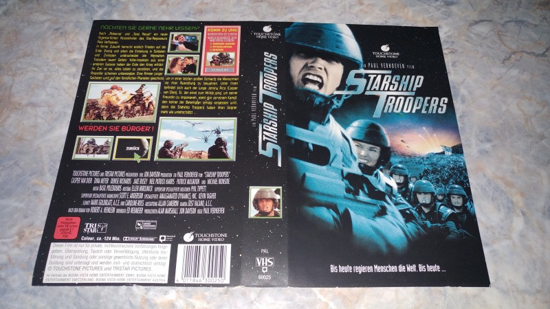 STARSHIP TROOPERS / NUR ORIGINAL COVER