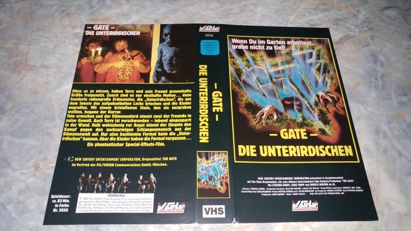GATE - DIE UNTERIRDISCHEN / ORIGINAL COVER ---