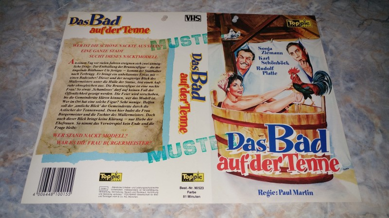DAS BAD AUF DER TENNE / ORIGINAL COVER ---