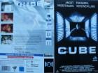 Cube ... Maurice Dean Wint, Nicole De Boer ...  VHS