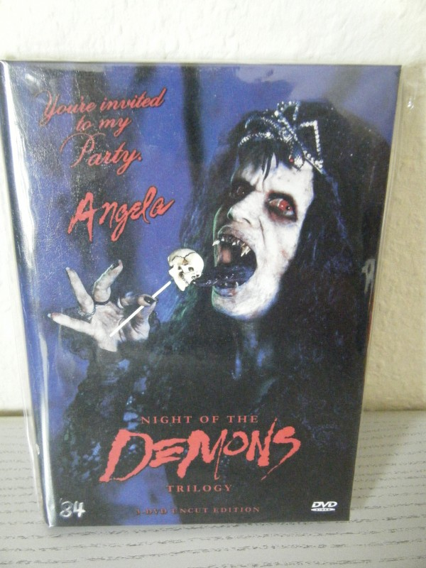 Night of the Demons TRILOGY unrated HARTBOX 84