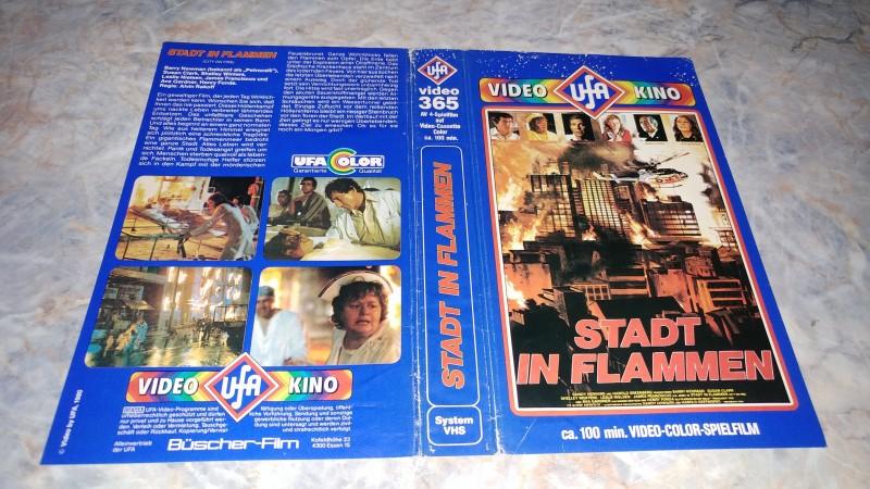 STADT IN FLAMMEN / ORIGINAL COVER