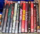 Horror DVDs - Blob, Dentist, Muttertag, Sado, Texas Chainsaw