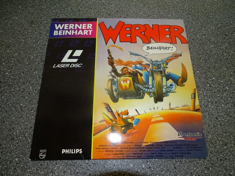 WERNER // Beinhart ! // Constantin Deutsche LASERDISC LD