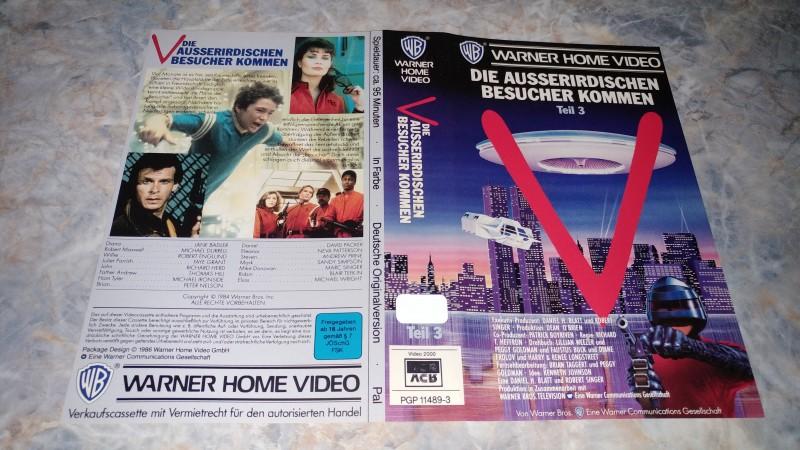 V - DIE AUSSERIRDISCHEN KOMMEN 3 / ORIGINAL COVER