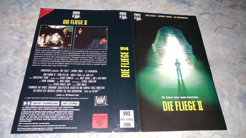 DIE FLIEGE 2 / ORIGINAL COVER