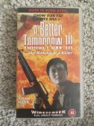 A Better Tomorrow 3 Hexenkessel Saigon VHS Video Made in HK
