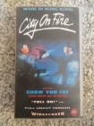 City on Fire VHS Video Made in HK englisch Widescreen