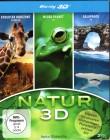 NATUR 3D 3x Blu-ray BOX Afrika Micro Planet Galapagos