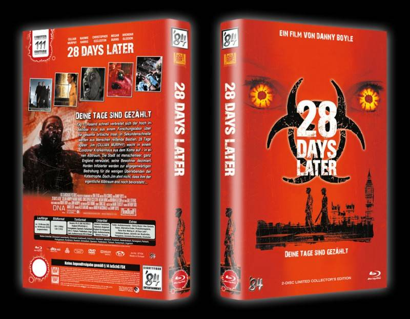 28 Days Later - gr Blu-ray Hartbox A Lim 111 OVP