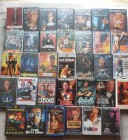 34x VHS Actionhelden - Stallone, Van Damme, Seagal, Lundgren