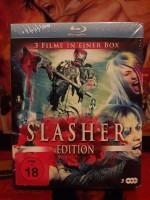 Slasher Edition - 3 Blu-ray´s im Schuber (NEU/OVP)