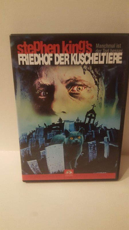 FRIEDHOF DER KUSCHELTIERE - STEPHEN KING - KULT FILM