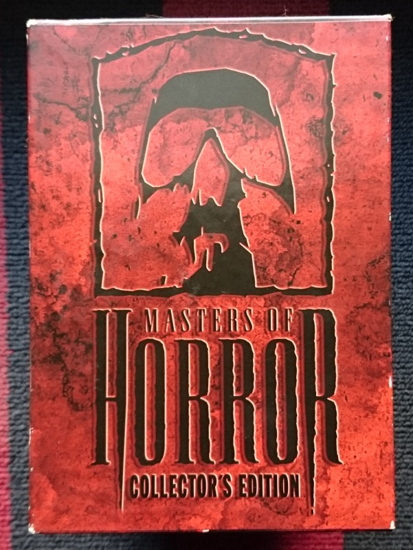 Masters of Horror Staffel 1 komplett UNCUT deutsch 13 DVDs