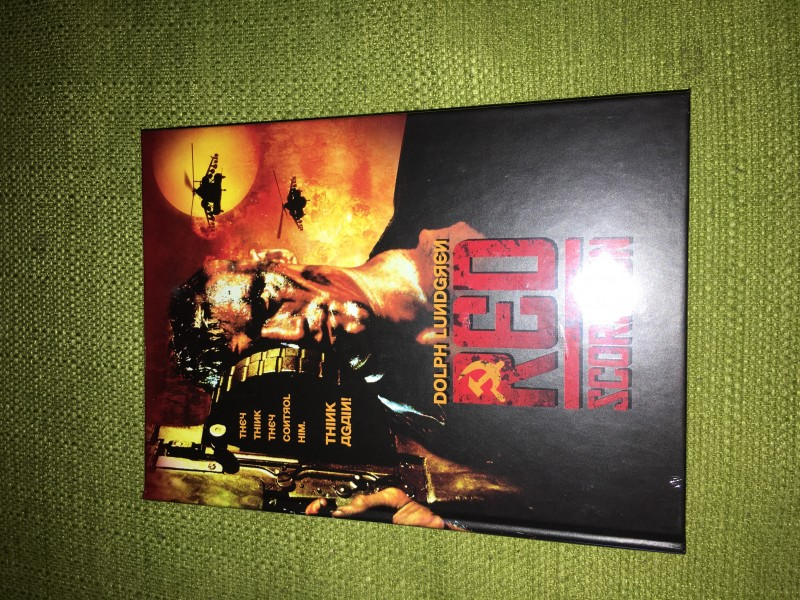 red scorpion mediabook neu ovp nr.035