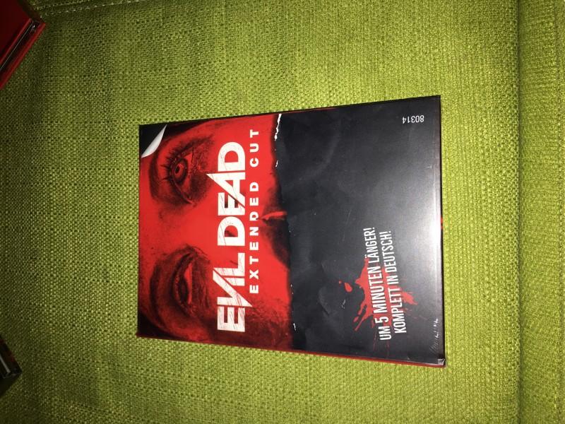 evil dead mediabook neu ovp nr.741