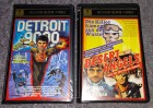 2x VHS Hunter Home Video Detroit 9000 & Desert Angels